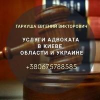 Услуги юриста и адвоката Киев