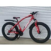 Велосипед со стальной рамой Top Rider Fat Bike 26 ( рама 17 дюймов )