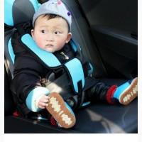 Детское автокресло бескаркасное с подголовником 9-36 кг АКЦИЯ