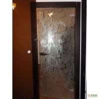 Стеклянные двери в интерьере дома и квартиры