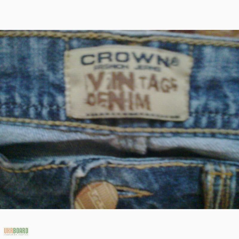 Джинсы crown