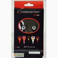 Наушники вакуумные Monster MD-A4, копия Monster Beats by Dr. Dre