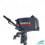 Лодочный мотор Fisher T2.5BMS двухтактный управление на румпеле