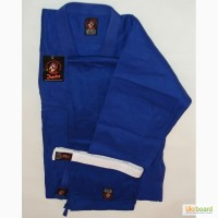 Кимоно дзюдо синее ТМ Wolf рост 140см