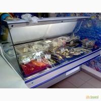Холодильник-витрина с товарным запасом
