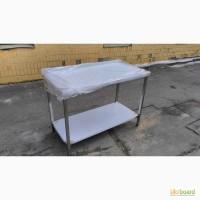 Продажа бу столов из пищевой нержавеющей стали 1500х600х850 мм