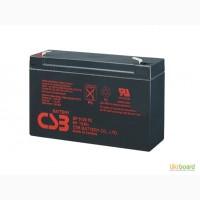 Аккумулятор CSB 6/12В/V до детской машины, мотоцикла, упса, эхолота, металлоискателя