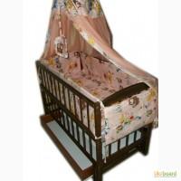Акция Новые Кроватка, матрас, постельный набор от производителя