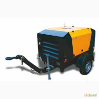 Передвижной дизельный компрессор от 1 до 15 м3/мин, двигатель KUBOTA, DEUTZ