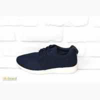 Женские кроссовки под Nike Roshe Run (Dark Blue)
