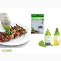Комплект силиконовых бутылочек Chef Bottle Kit
