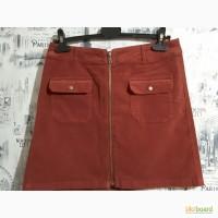 Микровельветовая юбка s.oliver, uk 10