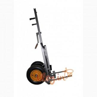 Апилифт «М-1″- пасечная тележка-подъемник, усиленные колёса с подкачкой