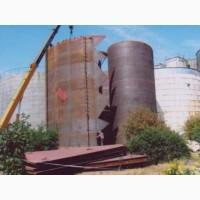 Резервуар стальной РВС : 1000, 400, 200, 100 куб.м