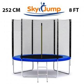 Батут SkyJump от 183 до 374 см | качество Польша | нагрузка до 150 кг