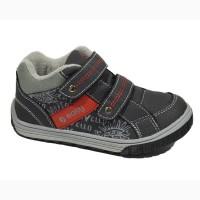 Демисезонные ботинки для мальчиков Easy арт.5141 black-red с 28-33 р