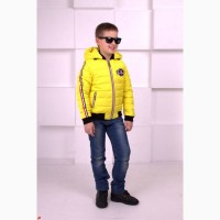 Новинка Весна 2018 Весенняя курточка для мальчика Атом разные цвета с 98-128 р