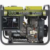 Генератор дизельный 5 кВт Könner Söhnen BASIC KS 6000DE с электростартом