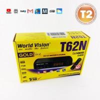 Т2 тюнер World Vision T62N - 32 HD канала и Youtube, IPTV, Megogo, Погода и Почта