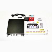 Усилитель UKC SN-004BT - Bluetooth, USB, SD, FM, MP3! 300W+300W Караоке 2х канальный