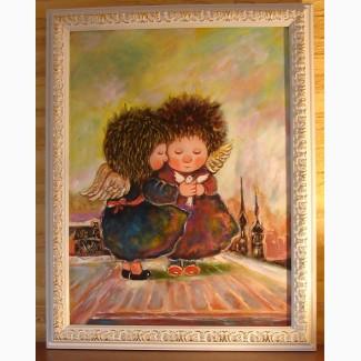 Купить Заказать копию картины Чувиляевой маслом в детскую комнату