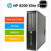 Системный блок HP Compaq 8200 / i3-2100 (3.1 ГГц) / RAM 4 / HDD 250 gb