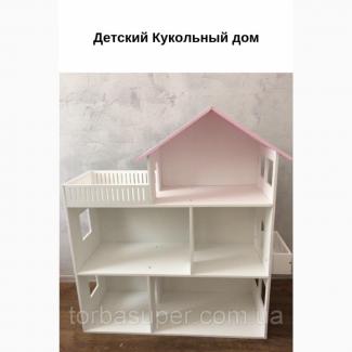 Дом для кукол из дерева TorbaSuper, ручной работы