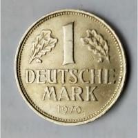 Монета.Страна deutschland, 1 deutsche mark 1970 D