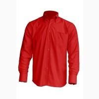 Рубашка мужская с длинным рукавом JHK SHRA POP LS, красная
