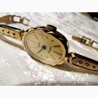 Часы механические Луч 2001 года, в коллекцию, новые, женские
