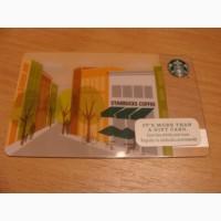 Подарочная карта сети кафе Starbucks