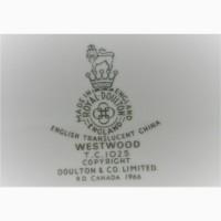 Редкие столовые сервизы Johnson Bros, ROYAL DОULTON, Англия