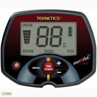 Металлоискатель Teknetics Eurotek Pro 11DD. Фирменный американский детектор