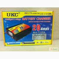 UKC Battery Charger 20A, зарядное устройство для автомобиля 12 вольт 20