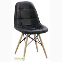 Дизайнерские стулья Пэрис вуд PVC (Paris wood PVC) для дома, офиса, кафе, бара, ресторана