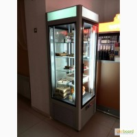 Кондитерский холодильный шкаф-витрина Torino-K 550C РОСС. Новые.Гарантия 3 года