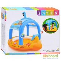 Детский надувной бассейн Intex Пиратский корабль