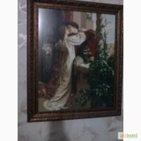 Вышитая картина Ромео и Джульетта