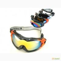 Маска горнолыжная/лыжные очки Koestler с двойным фильтром