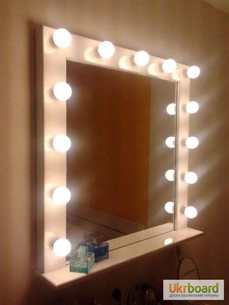 Как сделать гримерное зеркало с подсветкой своими руками