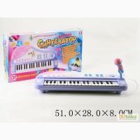 Синтезатор детский, 8 видов инструм., 22 песни, акомпонимент, караоке, запись, JXT88016