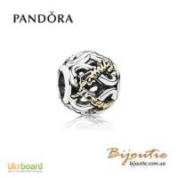 Оригинал PANDORA шарм навсегда и навеки с семьей 791525CZ