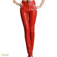 Шкіряні жіночі штани; кожаные женские брюки