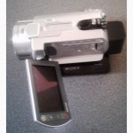 Видеокамера Sony DCR-SR300, 40гб, б/у
