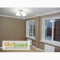 Откосы Оболонь, весь Киев, ремонт квартир и комнат, поклейка обоев, откосы окон и дверей