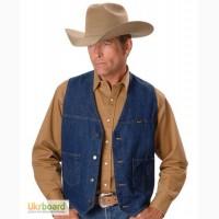 Оригинальный джинсовый жилет Wrangler