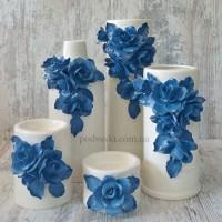 Керамичесчкие вазы и наборы ваз для декора и подарка