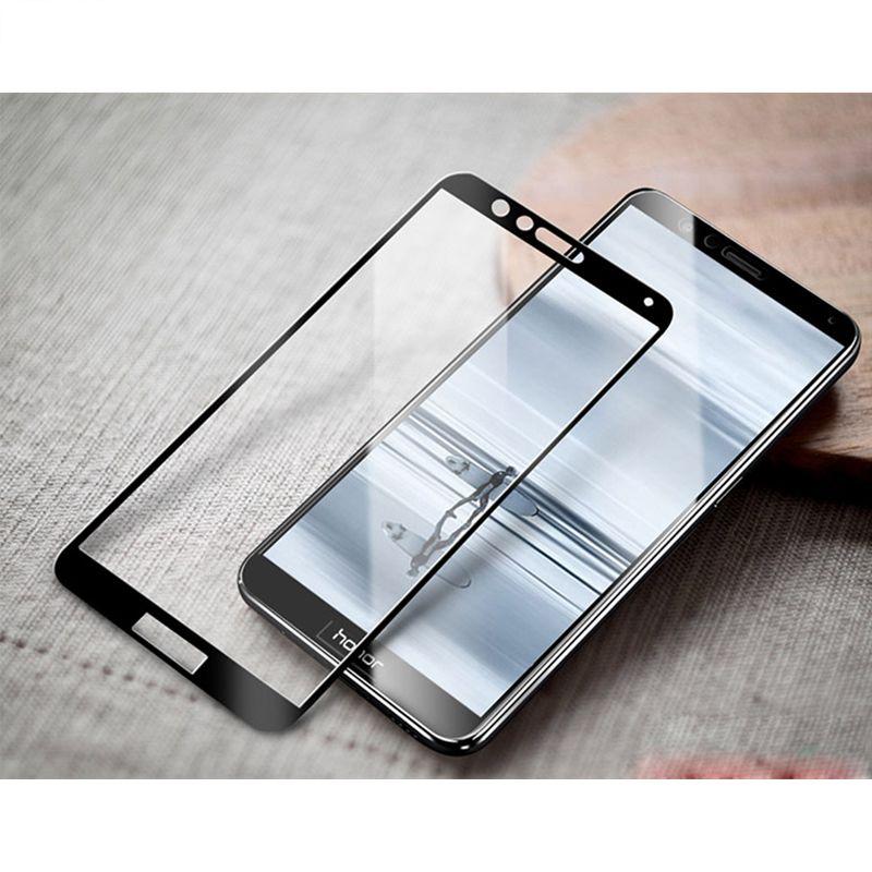 Фото 3. Защитное стекло 2.5D для Huawei Honor 7X