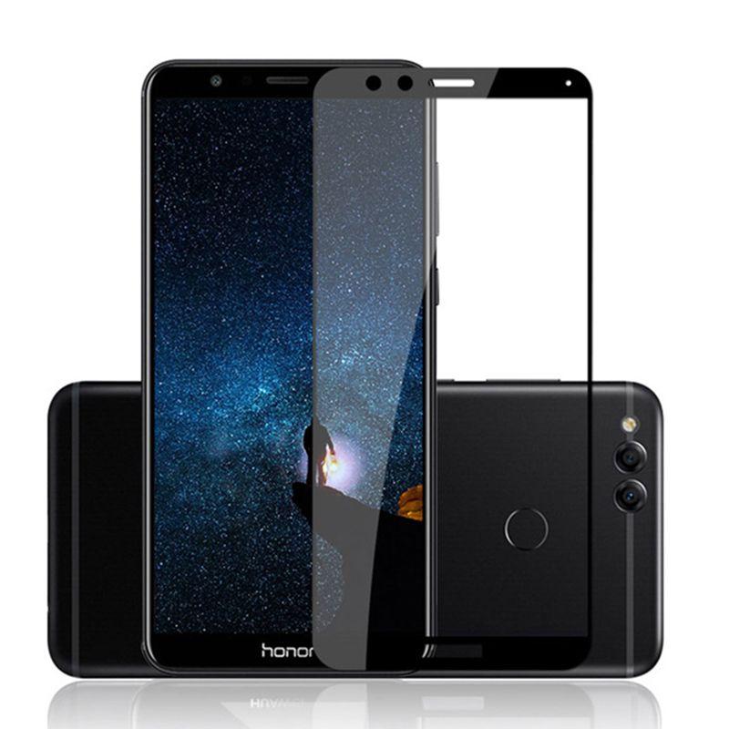 Фото 4. Защитное стекло 2.5D для Huawei Honor 7X
