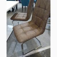 В продаже 4 стула стул S-111 цвет коричневый и бежевый искусственная кожа